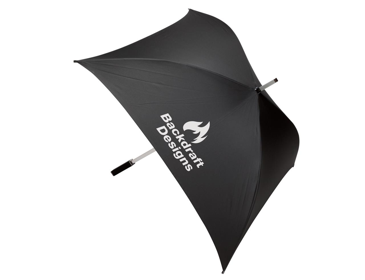 the premier collection soho square umbrella black - soho square umbrella black
