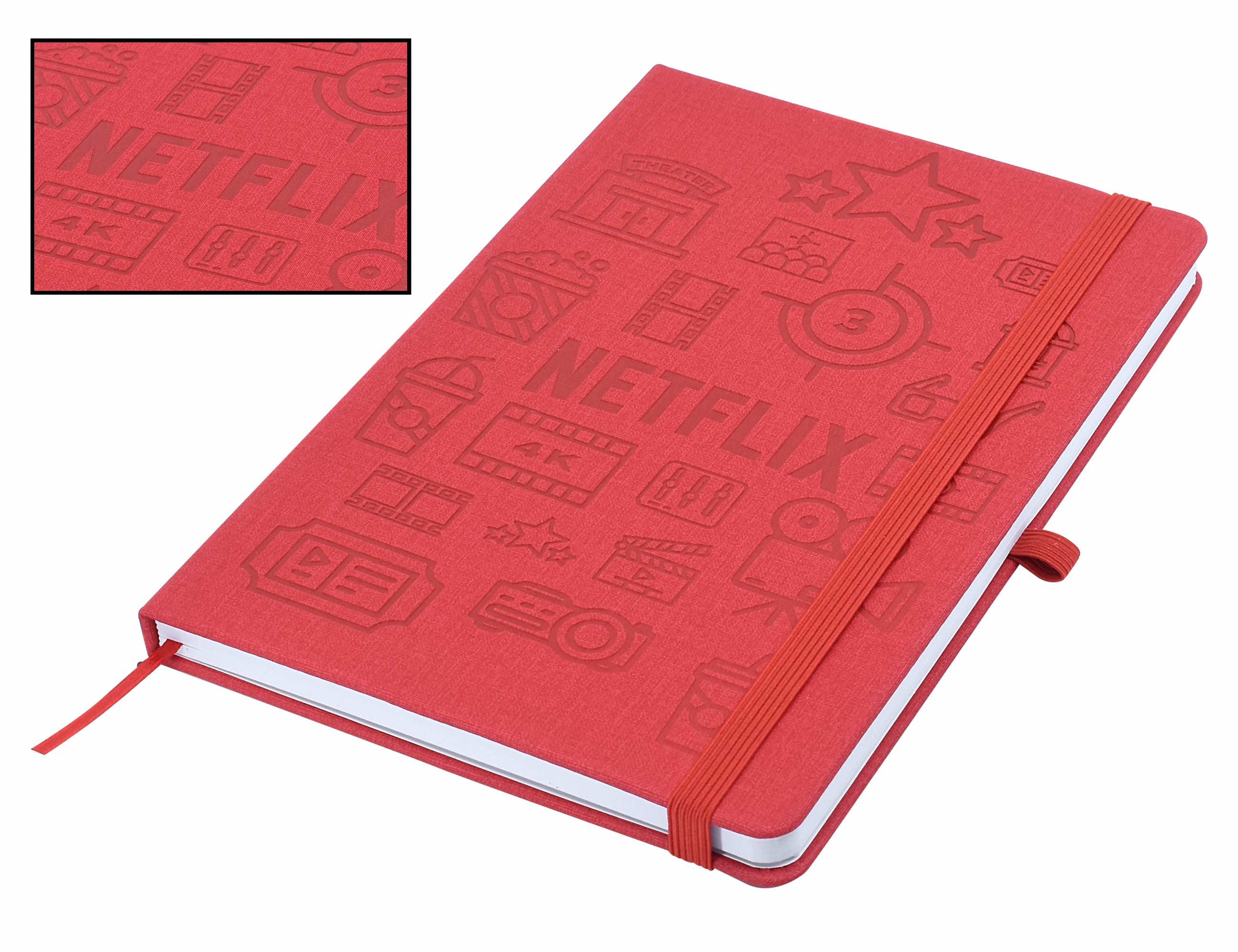 Designa Deboss Linen Notebook A5 Air